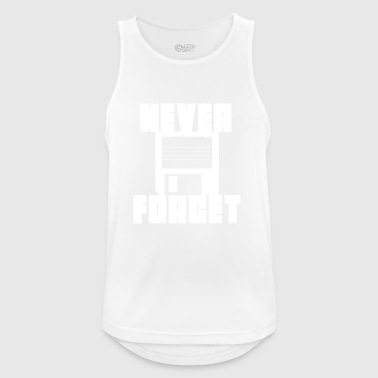 floppy disk never forget - Men's Breathable Tank Top