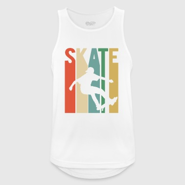 Skateboarding Skater Skateboard Skating Vintage - Men's Breathable Tank Top