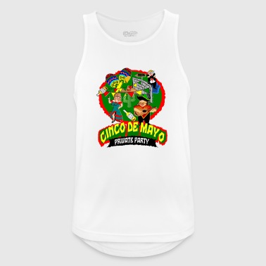 cinco de mayo private party anti trump wall - Männer Tank Top atmungsaktiv