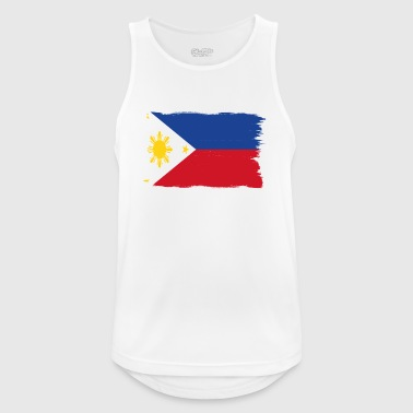 Pride flag flag home origin Philippines png - Men's Breathable Tank Top