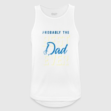 Probably the best dad ever vintage - Men's Breathable Tank Top