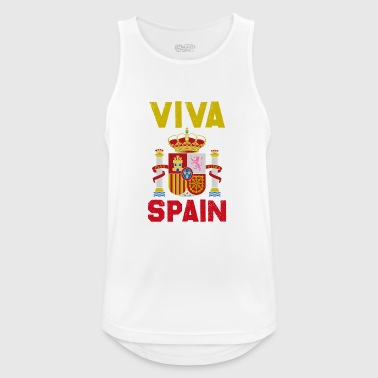 Sense of Life Spain Coat of Arms Europe Madrid Gift - Men's Breathable Tank Top