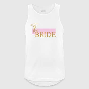 Bruden - The bride T-shirt - Herre tanktop åndbar