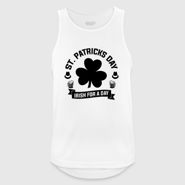 St. Patrick's Day Irish for a day - Men's Breathable Tank Top