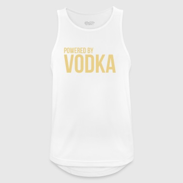Powered by vodka - Men's Breathable Tank Top