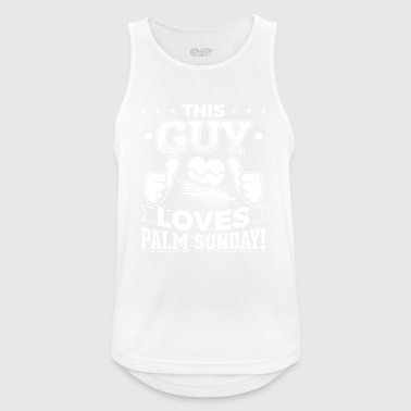 This guy palm sunday - Männer Tank Top atmungsaktiv