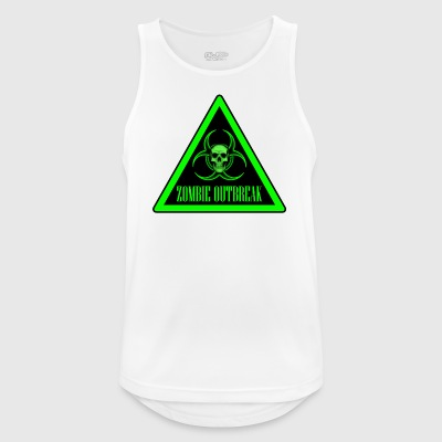 Zombie Outbreak - Men's Breathable Tank Top