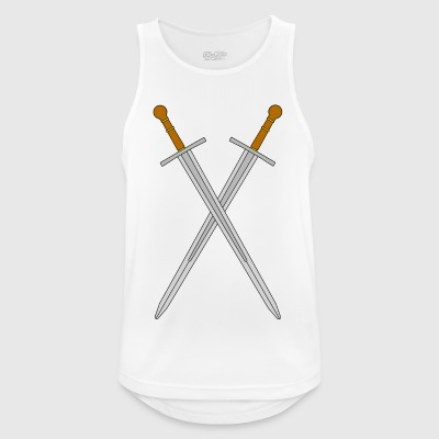 Two crossed swords - Men's Breathable Tank Top