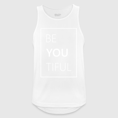 Funny Beautiful - Men's Breathable Tank Top