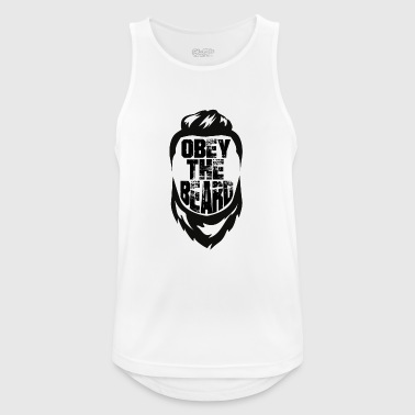Obey the beard - Männer Tank Top atmungsaktiv