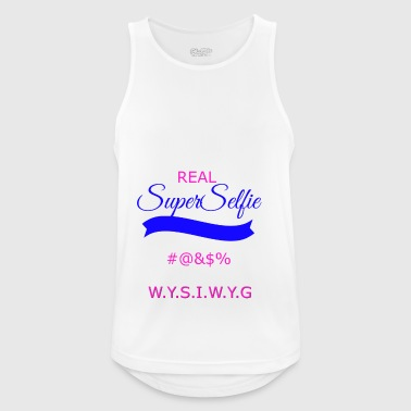 superselfietransparant - Men's Breathable Tank Top