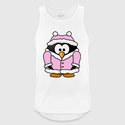 Penguin in the winter - Men's Breathable Tank Top