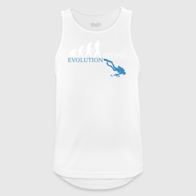 Evolution Diving - Männer Tank Top atmungsaktiv