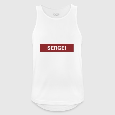 Sergei - Men's Breathable Tank Top