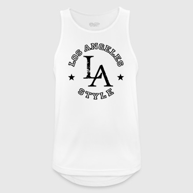 Los Angeles - LA Style - Dance Shirt - Pustende singlet for menn