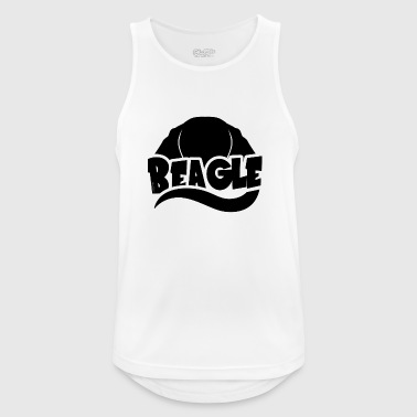 Beagle Silhouette - Men's Breathable Tank Top