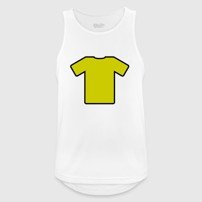 Yellow T-shirt - Men's Breathable Tank Top