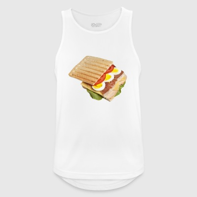 sandwich toast toaster breakfast breakfast18 - Men's Breathable Tank Top