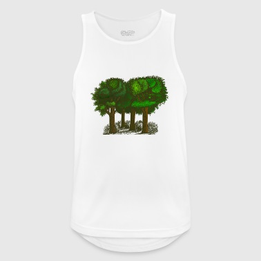 Forest - Men's Breathable Tank Top