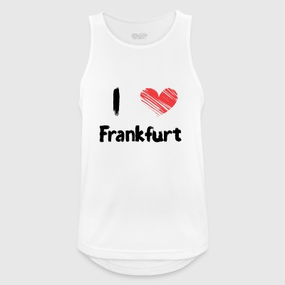 I love Frankfurt - Men's Breathable Tank Top