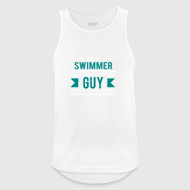 Swimmer - Swimmer Gift Swimming lifeguard - Men's Breathable Tank Top