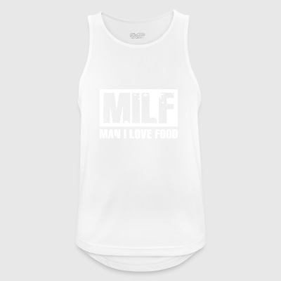 Milf T-Shirt Gift Idea Funny Birthday - Men's Breathable Tank Top