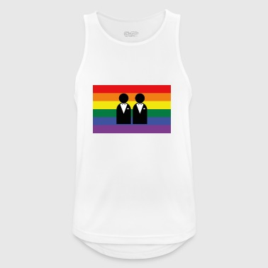 homosexuality, bachelorette party - Men's Breathable Tank Top