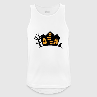 haunted House - Camiseta sin mangas hombre transpirable