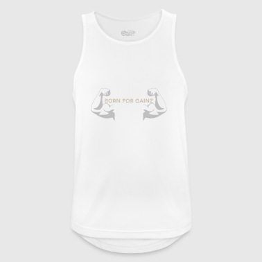 Born For GAINZ arms - Men's Breathable Tank Top
