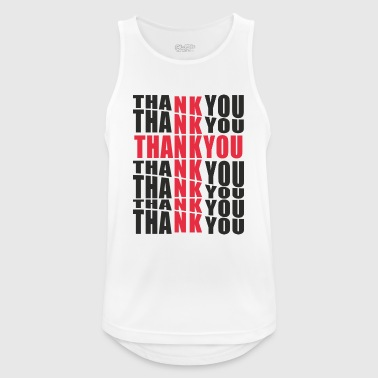 Thank you Jesus - Men's Breathable Tank Top