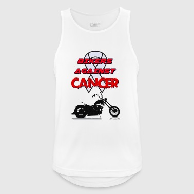 Bikers Against Cancer - Men's Breathable Tank Top