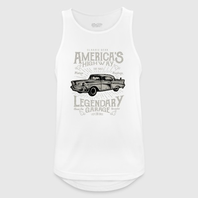 America's Legendary Highway - Men's Breathable Tank Top