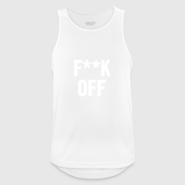 Fuck Off 2 White - Men's Breathable Tank Top