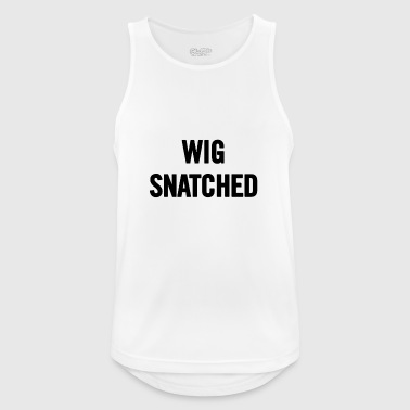Wig Snatched Black - Men's Breathable Tank Top