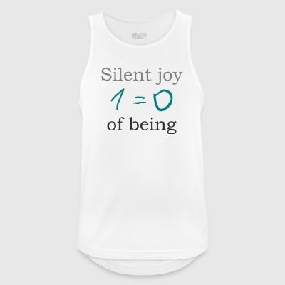 Silent joy of being 105 - Men's Breathable Tank Top