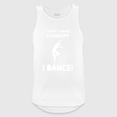 Dancing Sport Modern Dance Therapy Funny Gift - Men's Breathable Tank Top