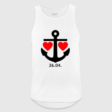26.04. Relationship Design for Men & Women - Mannen tanktop ademend