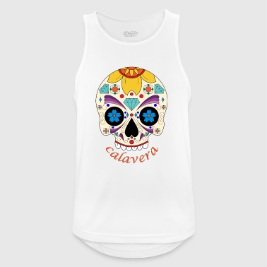 calavera diamond - Men's Breathable Tank Top