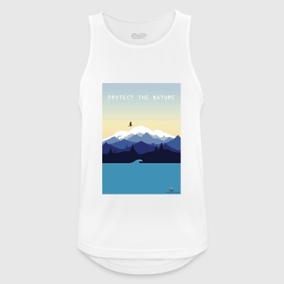Protect Nature - Men's Breathable Tank Top