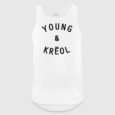 YOUNG & KRÉOL - Men's Breathable Tank Top