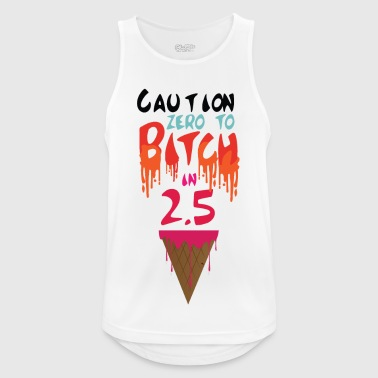 Zero to Bitch - Men's Breathable Tank Top