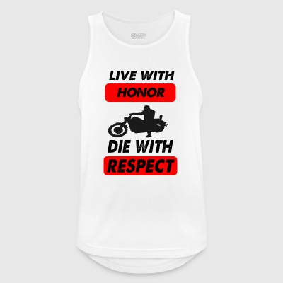 die with respect - Men's Breathable Tank Top