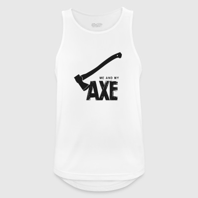 Me And My Ax - Men's Breathable Tank Top