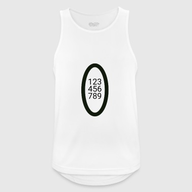 numbers - Men's Breathable Tank Top