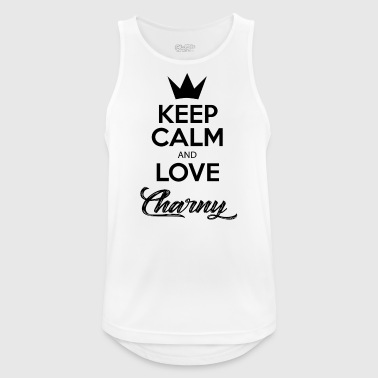 KEEP CALM AND LOVE CHARNY - Débardeur respirant Homme