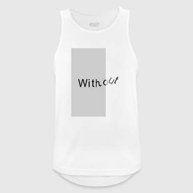 without2 - Pustende singlet for menn