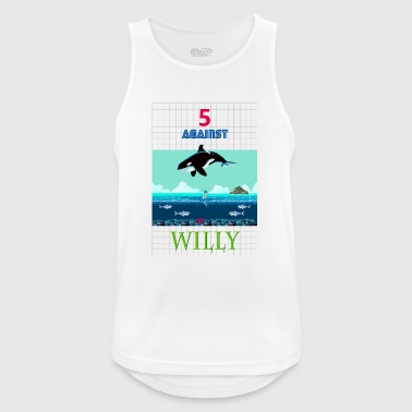 5 AGAINST WILLY - Men's Breathable Tank Top