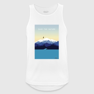 Save Nature - Men's Breathable Tank Top