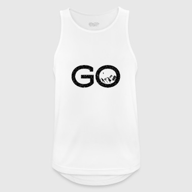 Goa - Pustende singlet for menn
