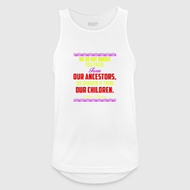 childrens - Men's Breathable Tank Top